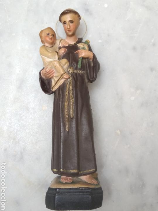 SAN ANTONIO 26 CM TIPO OLOT (Arte - Arte Religioso - Escultura)