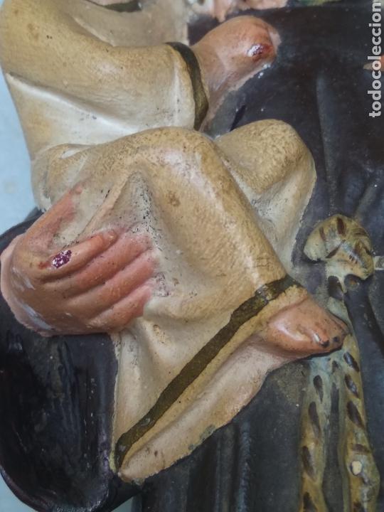 Arte: San Antonio 26 cm tipo Olot - Foto 13 - 126937398