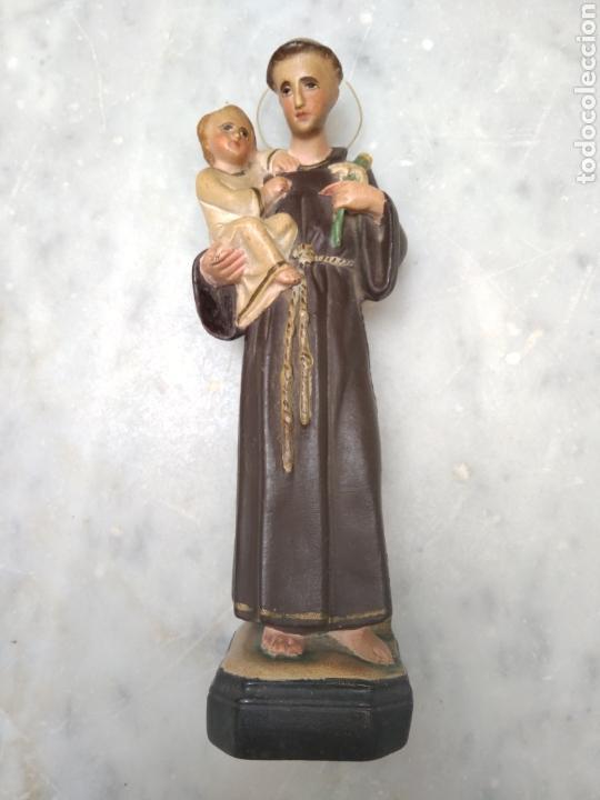 Arte: San Antonio 26 cm tipo Olot - Foto 2 - 126937398