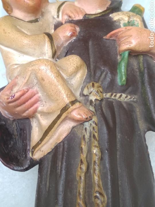 Arte: San Antonio 26 cm tipo Olot - Foto 9 - 126937398