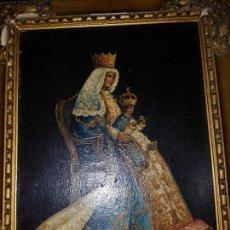 Arte: OLEO SOBRE PANEL DE MADERA.AÑOS 50. Lote 127581787