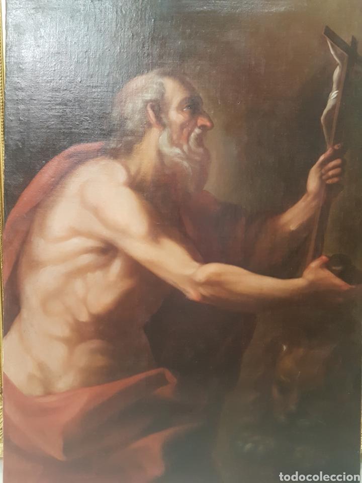SAN JERÓNIMO S.XVII (Arte - Arte Religioso - Pintura Religiosa - Oleo)