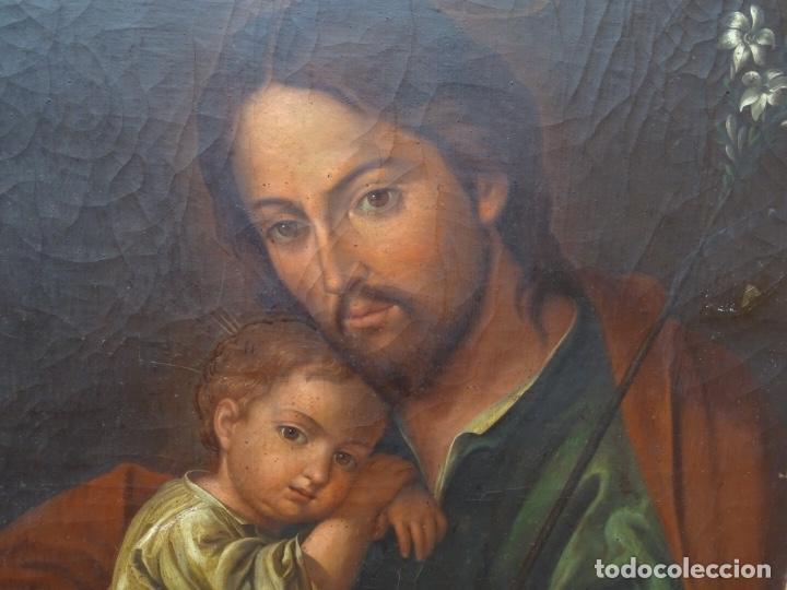 Arte: extraordinario óleo sobre tela de Francisco Enríquez y Garcia(granada 1771-1848)realizado en1845. - Foto 2 - 127976963