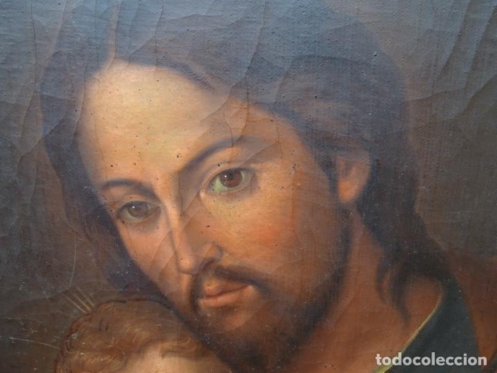 Arte: extraordinario óleo sobre tela de Francisco Enríquez y Garcia(granada 1771-1848)realizado en1845. - Foto 3 - 127976963