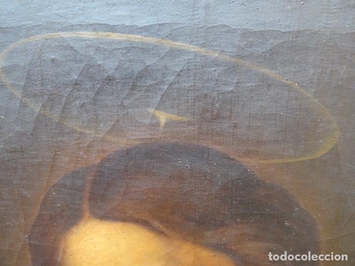 Arte: extraordinario óleo sobre tela de Francisco Enríquez y Garcia(granada 1771-1848)realizado en1845. - Foto 4 - 127976963