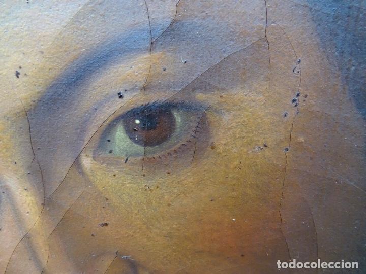 Arte: extraordinario óleo sobre tela de Francisco Enríquez y Garcia(granada 1771-1848)realizado en1845. - Foto 5 - 127976963