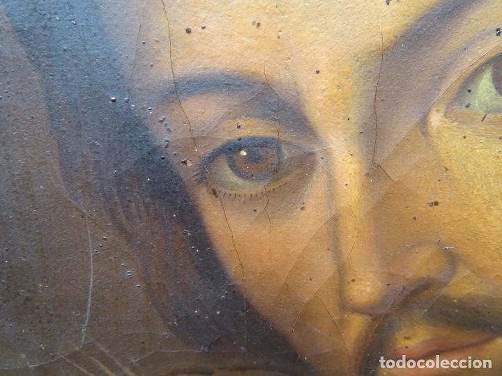 Arte: extraordinario óleo sobre tela de Francisco Enríquez y Garcia(granada 1771-1848)realizado en1845. - Foto 6 - 127976963