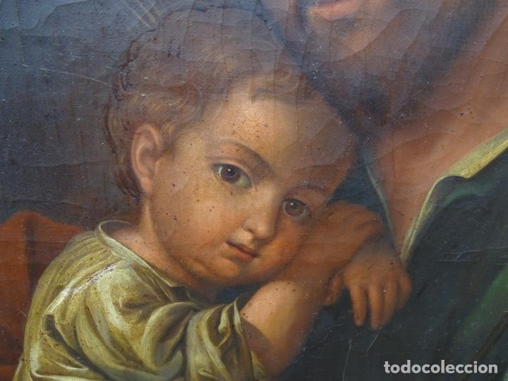 Arte: extraordinario óleo sobre tela de Francisco Enríquez y Garcia(granada 1771-1848)realizado en1845. - Foto 8 - 127976963