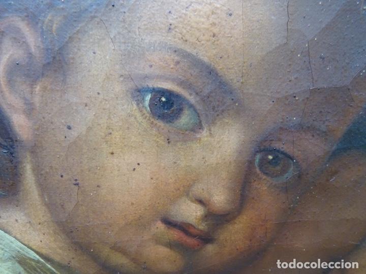 Arte: extraordinario óleo sobre tela de Francisco Enríquez y Garcia(granada 1771-1848)realizado en1845. - Foto 9 - 127976963