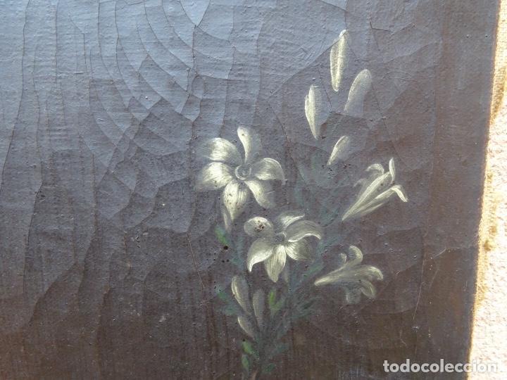 Arte: extraordinario óleo sobre tela de Francisco Enríquez y Garcia(granada 1771-1848)realizado en1845. - Foto 10 - 127976963