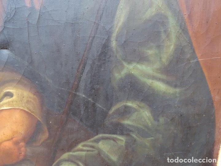 Arte: extraordinario óleo sobre tela de Francisco Enríquez y Garcia(granada 1771-1848)realizado en1845. - Foto 15 - 127976963
