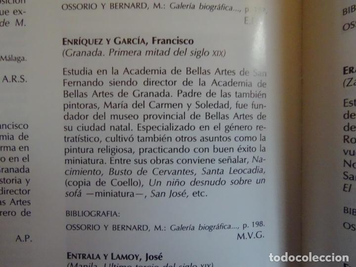 Arte: extraordinario óleo sobre tela de Francisco Enríquez y Garcia(granada 1771-1848)realizado en1845. - Foto 19 - 127976963