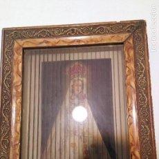 Arte: ANTIGUO CUADRO RELIGIOSO TRIDIMENSIONAL. Lote 128051087