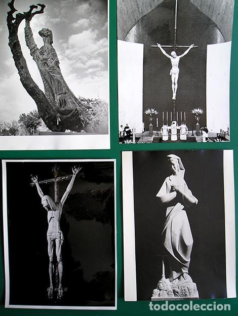 Arte: Lapayese - 6 fotografías de esculturas de Ramón Lapayese – copias vintage - Ca.1960 - Foto 2 - 128119823