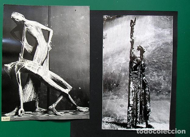 Arte: Lapayese - 6 fotografías de esculturas de Ramón Lapayese – copias vintage - Ca.1960 - Foto 3 - 128119823