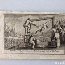 Arte: LOTE DE 10 GRABADOS SIGLO XVIII . RELIGIOSO . Lote 128133571