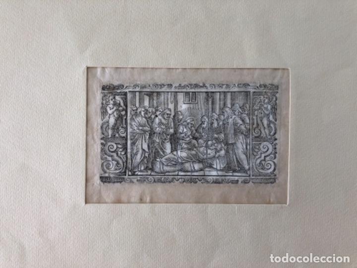 Arte: Lote de 10 grabados siglo XVIII . Religioso - Foto 2 - 128133571