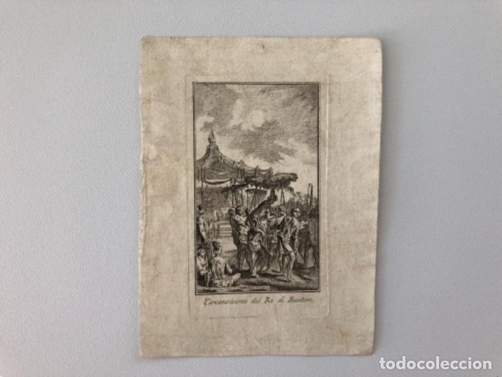 Arte: Lote de 10 grabados siglo XVIII . Religioso - Foto 5 - 128133571