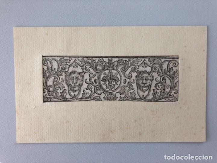 Arte: Lote de 10 grabados siglo XVIII . Religioso - Foto 6 - 128133571