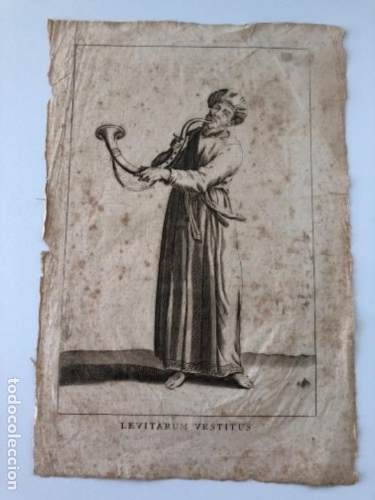 Arte: Lote de 10 grabados siglo XVIII . Religioso - Foto 8 - 128133571