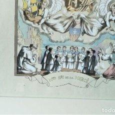 Arte: LOLA ANGLADA - DIBUJO ORIGINAL, LOLA ANGLADA, NRA SRA DE LA MERCE. Lote 128136699