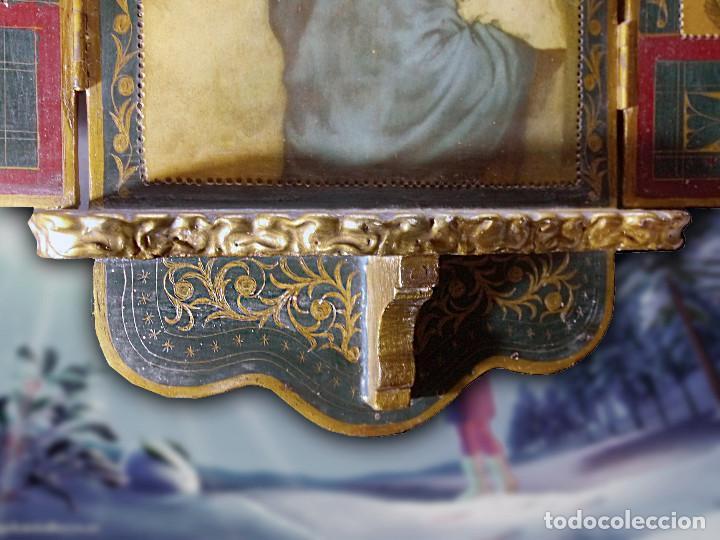 Arte: Antiguo Tríptico de La Madoninna, de Roberto Ferrutzi - Foto 6 - 128223735