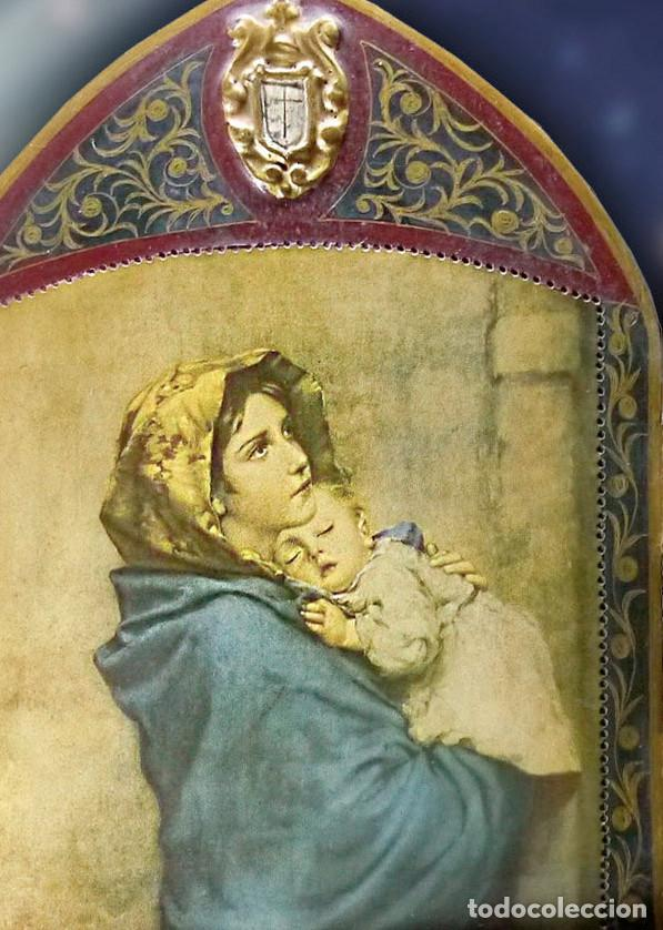 Arte: Antiguo Tríptico de La Madoninna, de Roberto Ferrutzi - Foto 7 - 128223735
