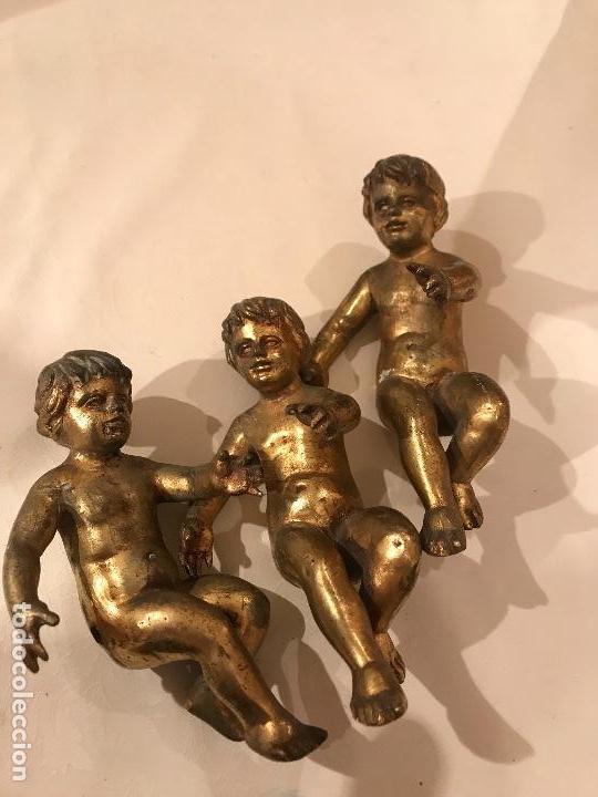 3 NIÑOS (Kunst - Religiöse Kunst - Skulpturen)