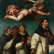 Arte: PINTURA RELIGIOSA S.XVI ESCUELA SEVILLANA. POSIBLE LUIS DE VARGAS. Lote 128462522
