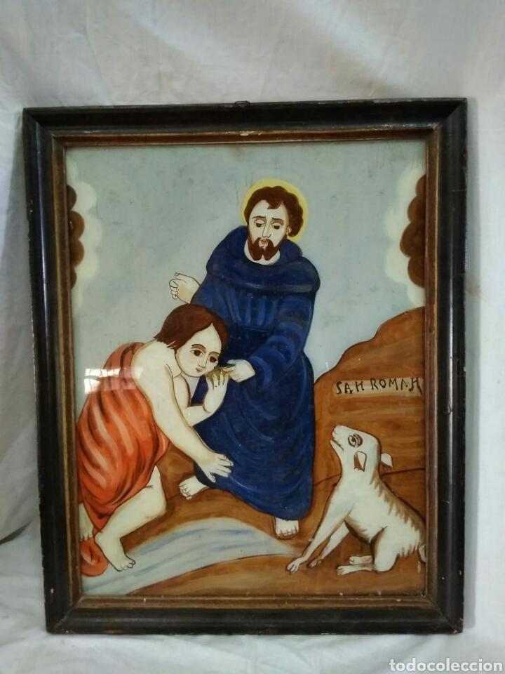 CRISTAL PINTADO (Arte - Arte Religioso - Pintura Religiosa - Oleo)