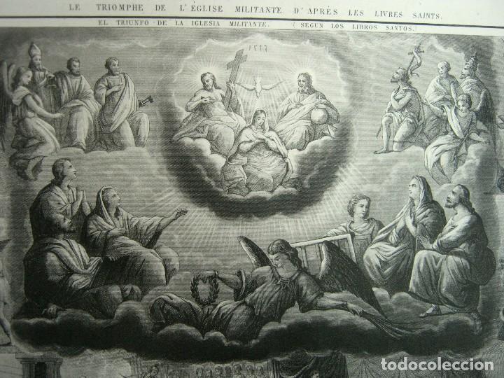 Arte: S.XIX - Martirologo grabado de Santos Martires y martirios - Foto 8 - 128484007