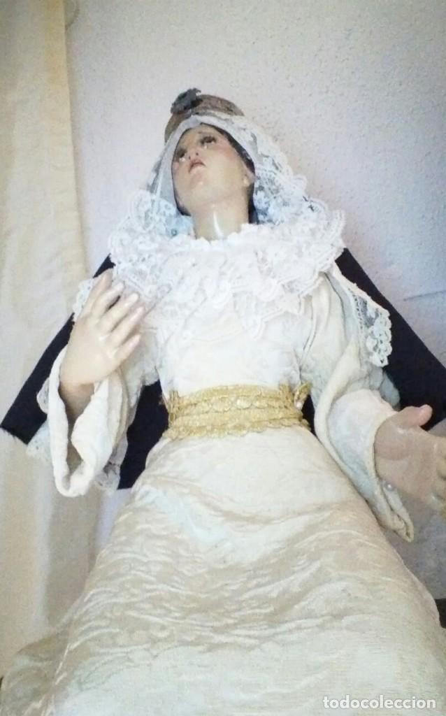 Arte: Virgen sedente de vestir - Foto 2 - 128537495