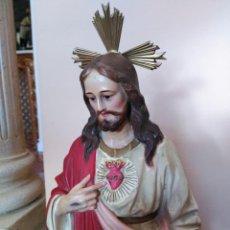 Arte: ANTIGUO SAGRADO CORAZÓN, ARTES RELIGIOSAS DE OLOT. Lote 128541291