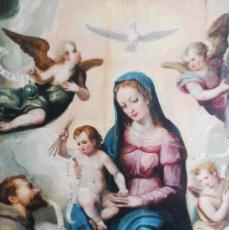 Arte: ESPECTACULAR PINTURA ÓLEO SOBRE TABLA SIGLO XVI. Lote 128662335