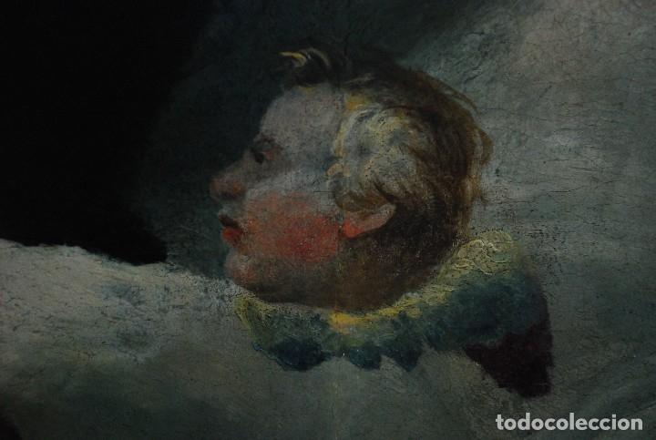Arte: ESPECTACULAR PINTURA ÓLEO SOBRE TABLA SIGLO XVI - Foto 19 - 128662335