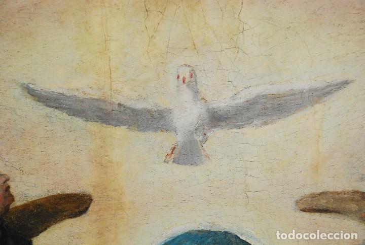 Arte: ESPECTACULAR PINTURA ÓLEO SOBRE TABLA SIGLO XVI - Foto 23 - 128662335