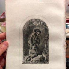 Arte: ANTIGUO GRABADO SAN MARIANO - MEDIDA 26X17 CM - RELIGIOSO. Lote 128701395