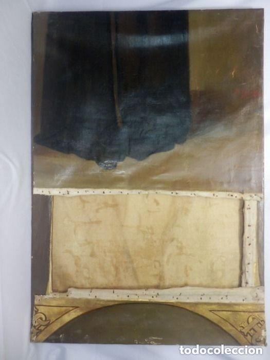 Arte: Benito Benet Mercade Fábrega (1821-1897) - Santa Rita de Casia - Óleo sobre tela - Foto 9 - 128884035