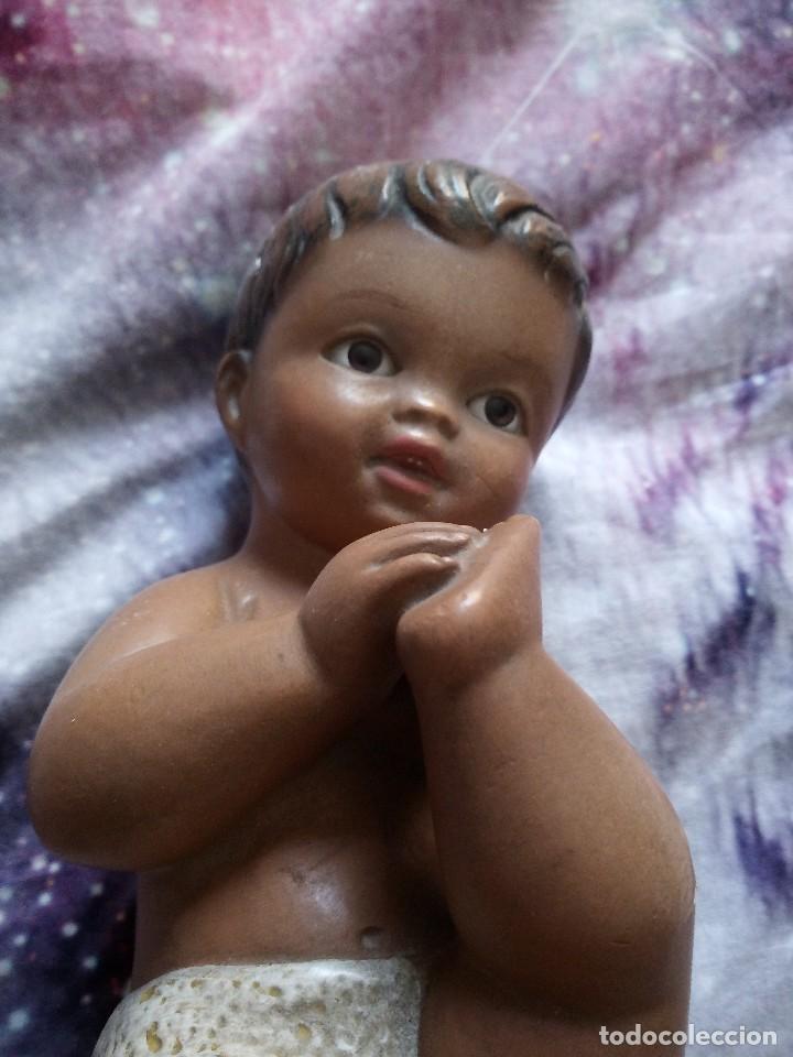 Arte: Antiguo niño jesus ,ojos de cristal. - Foto 2 - 128929063