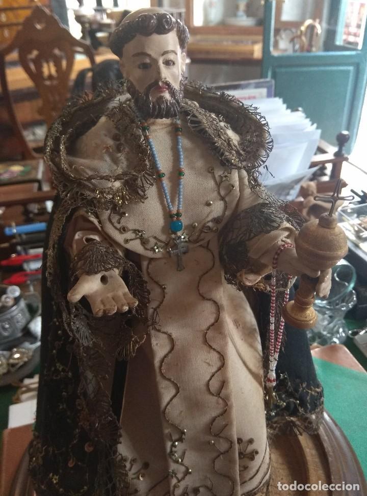Arte: Escultura de San Jacinto - Terracota XIX - Leer Descripción - - Foto 2 - 129098003