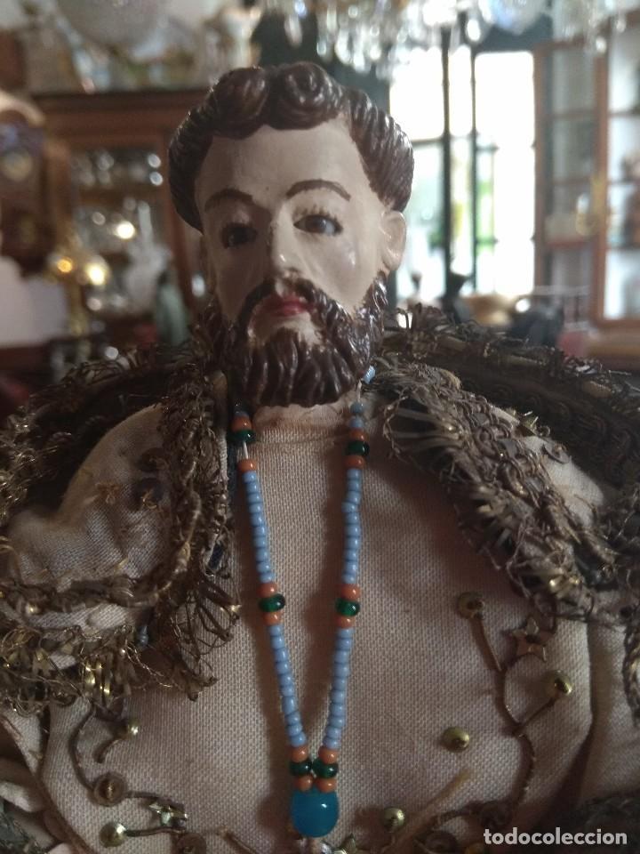 Arte: Escultura de San Jacinto - Terracota XIX - Leer Descripción - - Foto 4 - 129098003