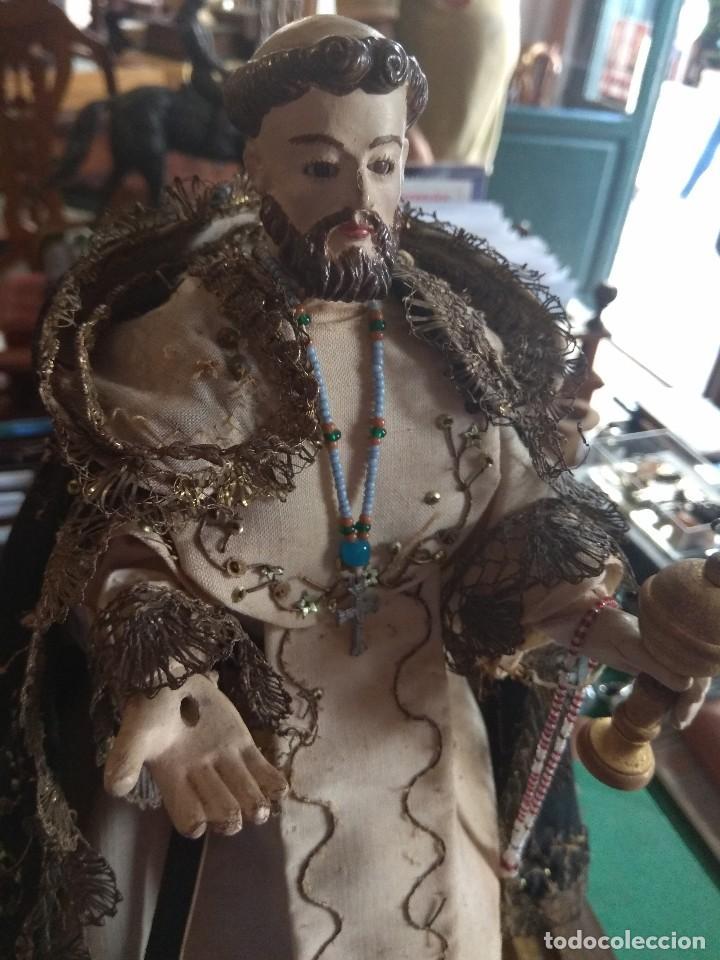 Arte: Escultura de San Jacinto - Terracota XIX - Leer Descripción - - Foto 10 - 129098003