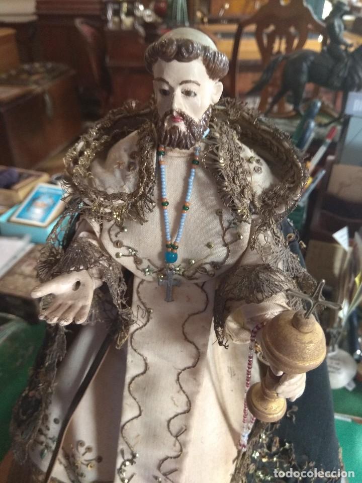 Arte: Escultura de San Jacinto - Terracota XIX - Leer Descripción - - Foto 11 - 129098003