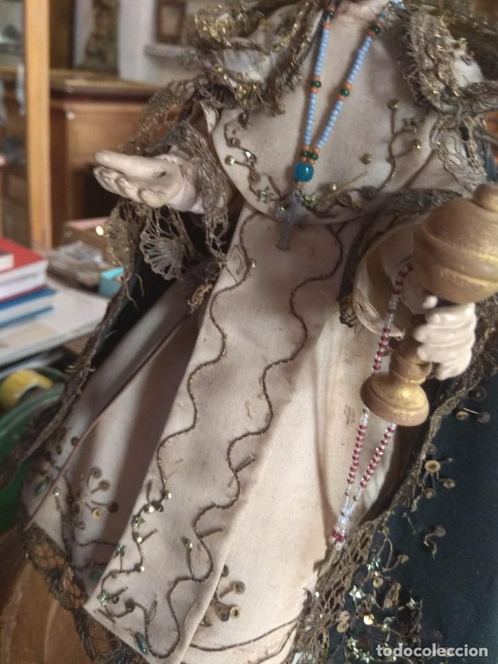 Arte: Escultura de San Jacinto - Terracota XIX - Leer Descripción - - Foto 12 - 129098003