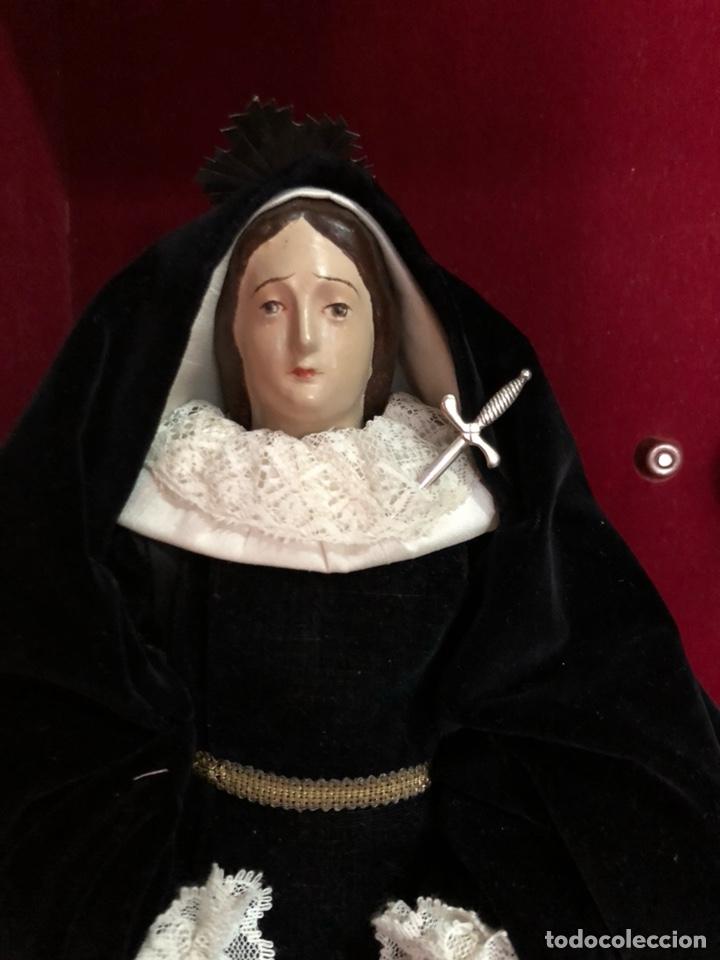 VIRGEN DOLOROSA SXIX (Arte - Arte Religioso - Escultura)