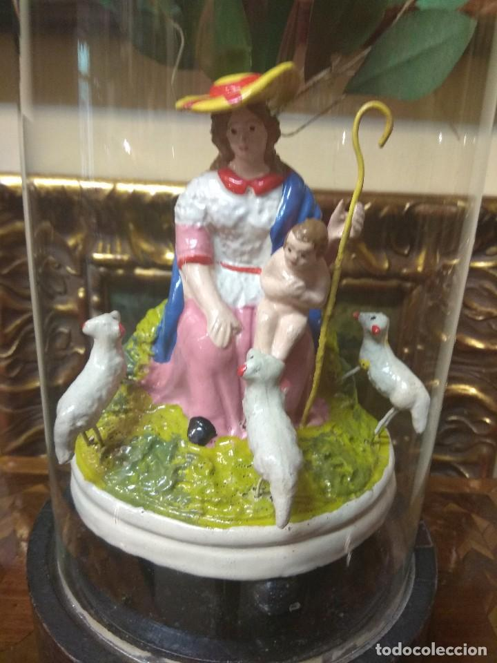 Arte: Escultura Divina Pastora en Terracota XIX - Foto 4 - 129444287