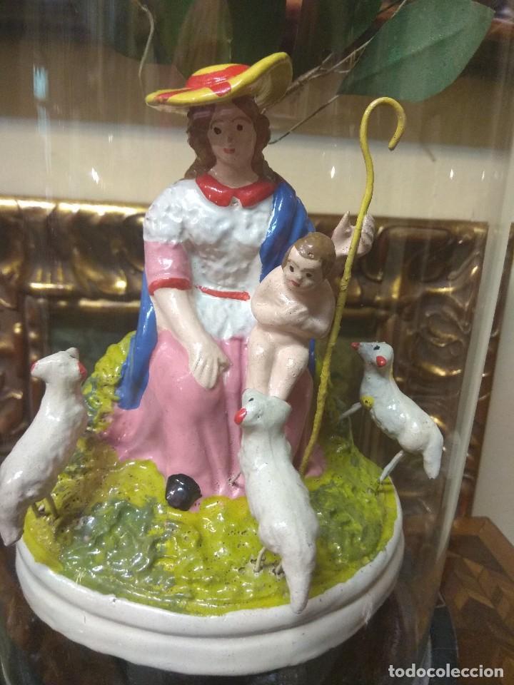 Arte: Escultura Divina Pastora en Terracota XIX - Foto 10 - 129444287