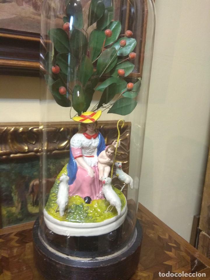 Arte: Escultura Divina Pastora en Terracota XIX - Foto 11 - 129444287