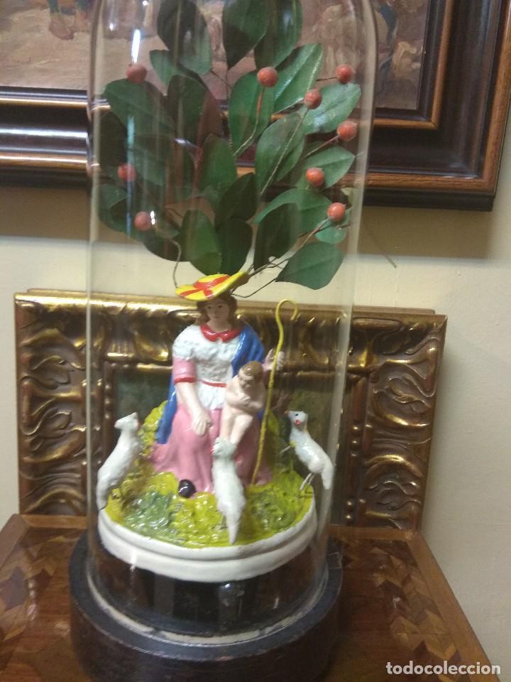 Arte: Escultura Divina Pastora en Terracota XIX - Foto 12 - 129444287
