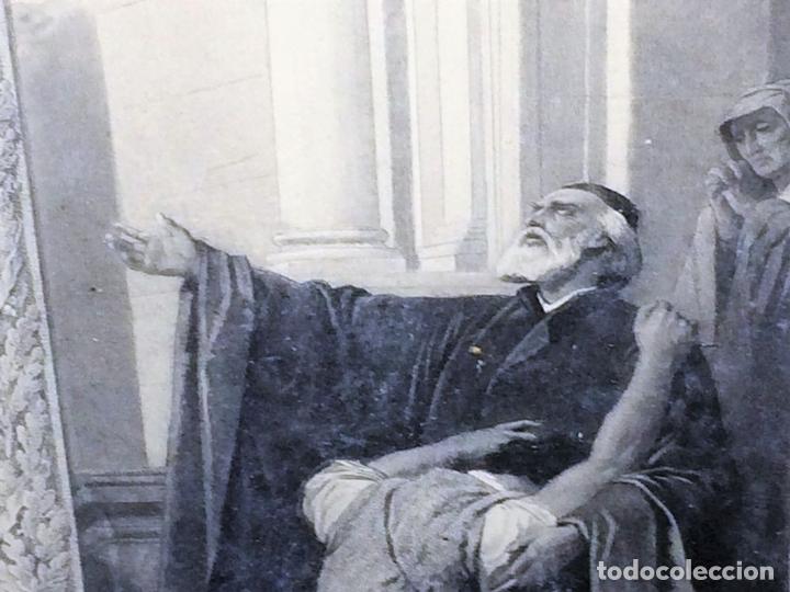 Arte: L'ENFANT PRODIGUE. GRABADO. LÉON GIRARDET. VERLAG VON GOUPIL. BERLIN-ALEMANIA. 1876 - Foto 6 - 129511015